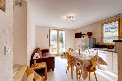 Living room Location Vacation rental 112920 La Clusaz