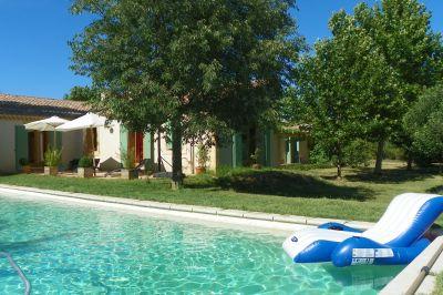 Swimming pool Location House 113252 Lourmarin