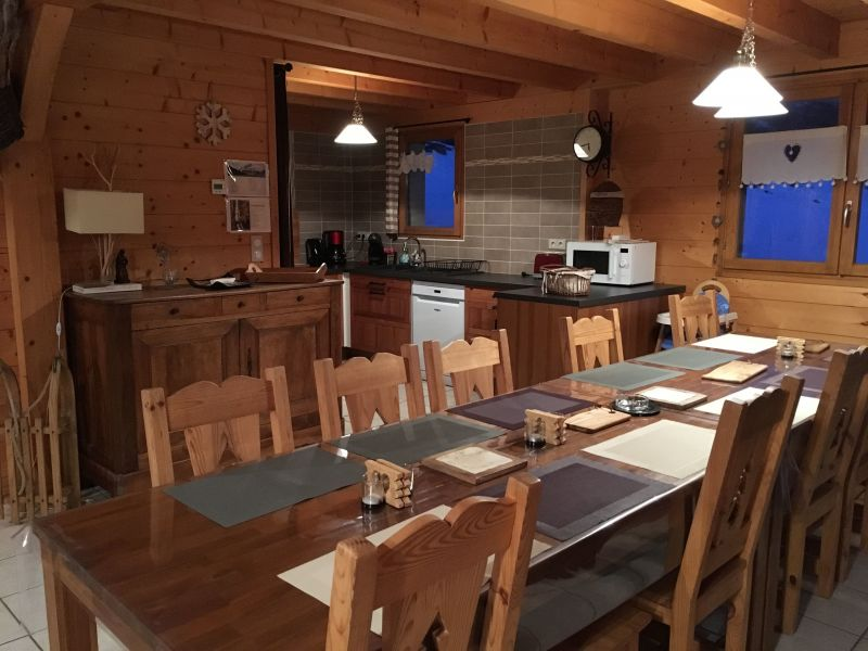 Dining room Location Chalet 116834 Ancelle