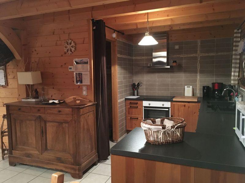 Open-plan kitchen Location Chalet 116834 Ancelle