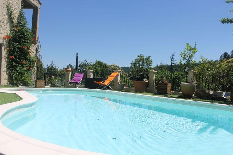 Swimming pool Location Vacation rental 117149 Alès