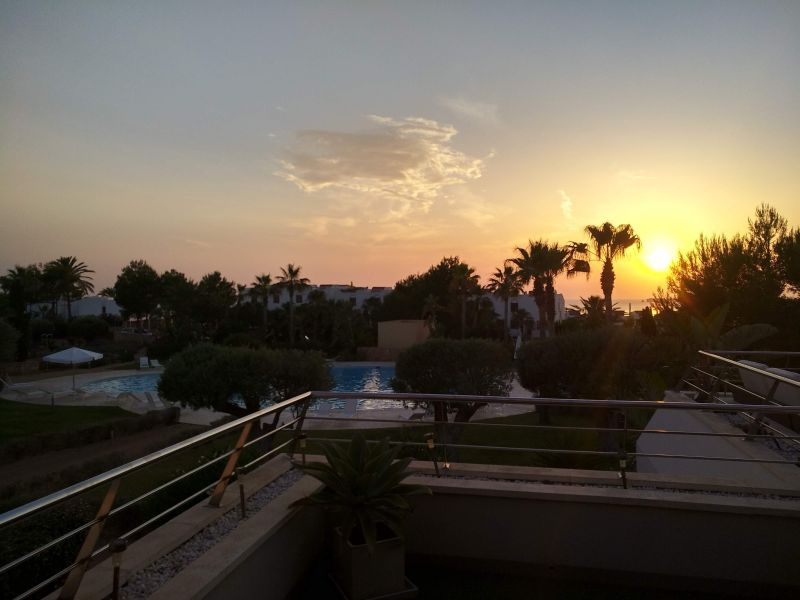View from the terrace Location Apartment 118637 Cala Tarida