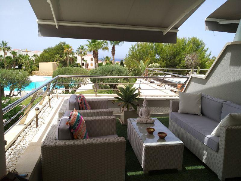 Terrace Location Apartment 118637 Cala Tarida