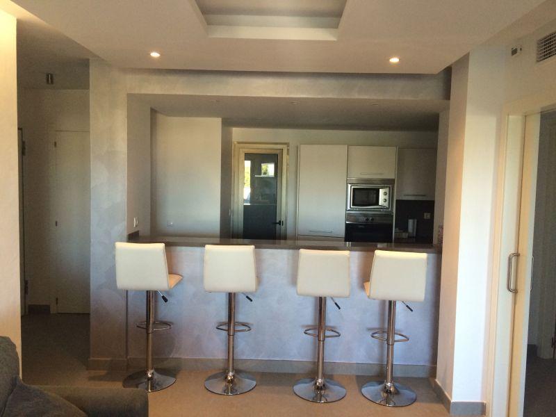 Open-plan kitchen Location Apartment 118637 Cala Tarida