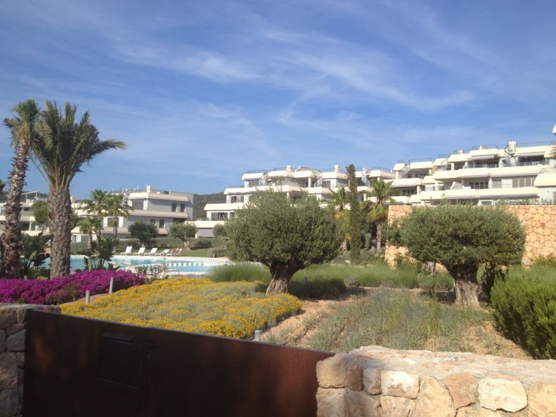 View of the property from outside Location Apartment 118637 Cala Tarida