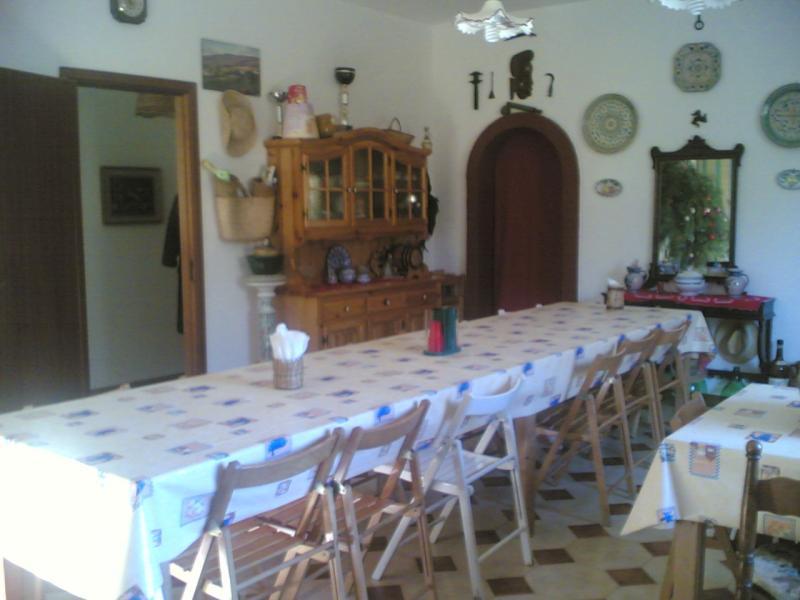 Dining room Location Villa 63583 Castellammare del Golfo