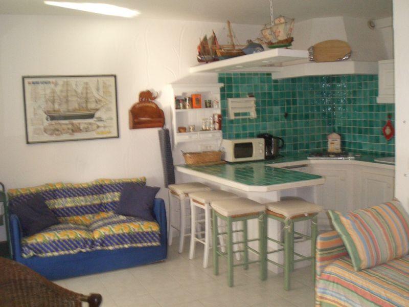 Open-plan kitchen Location Apartment 69976 Nice