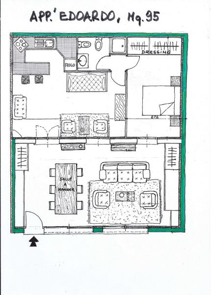 Map of property Location Apartment 69976 Nice