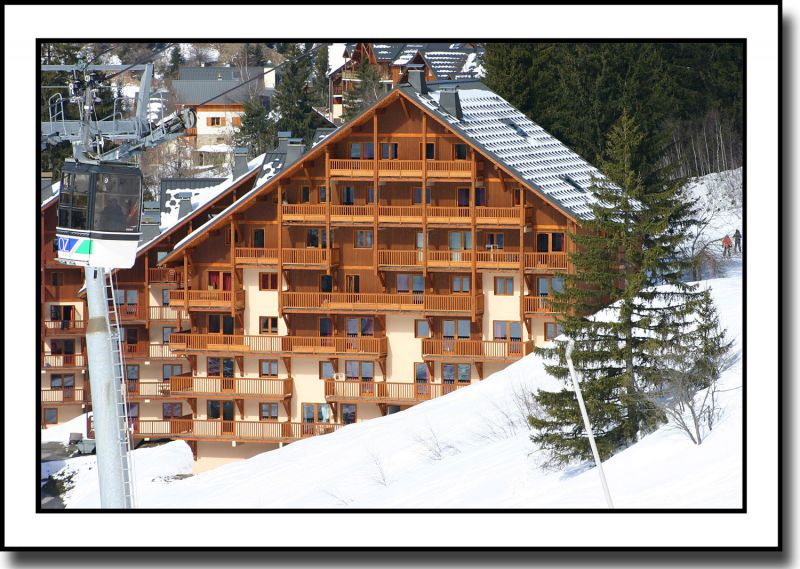 View of the property from outside Location Apartment 91485 Oz en Oisans