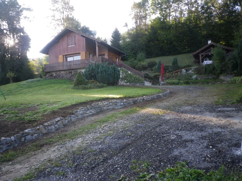 View of the property from outside Location Chalet 92047 Mont Saxonnex