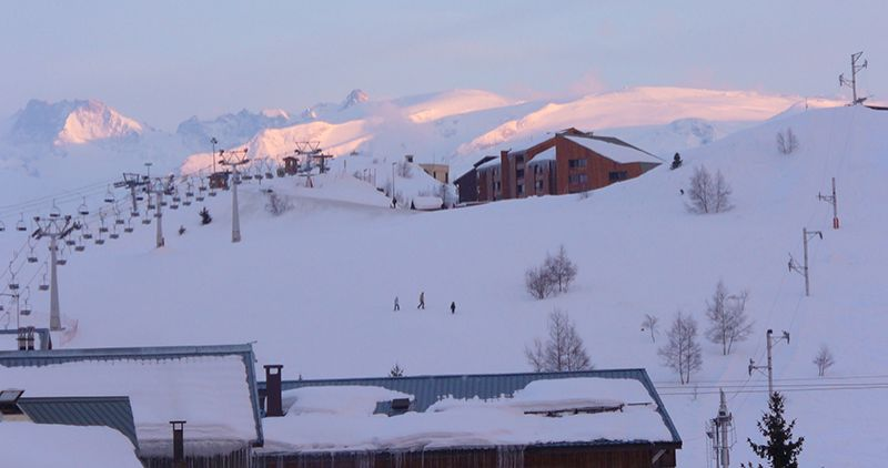 View from the balcony Location Apartment 64 Alpe d'Huez