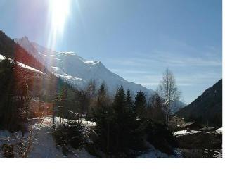View from the terrace Location Apartment 650 Chamonix Mont-Blanc