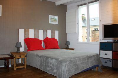 bedroom Location Apartment 103646 Honfleur