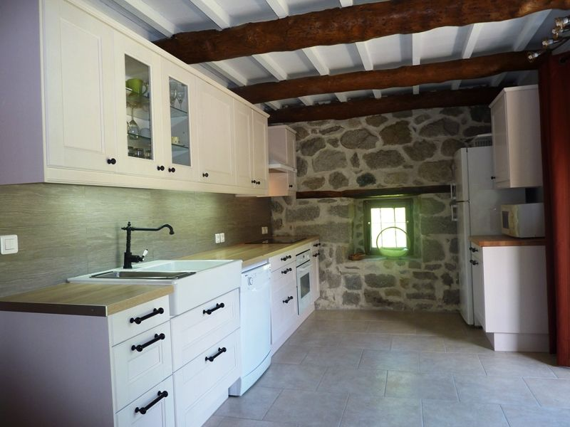 Separate kitchen Location Vacation rental 106964 Aulus les Bains