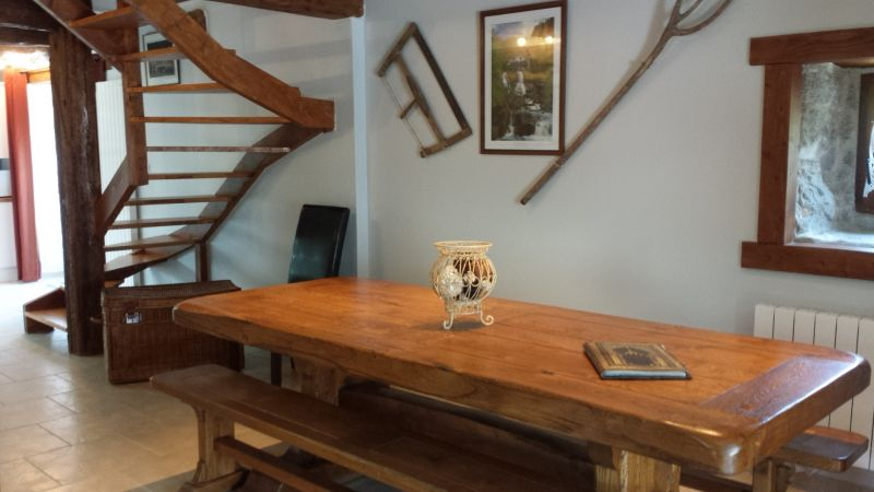 Dining room Location Vacation rental 106964 Aulus les Bains