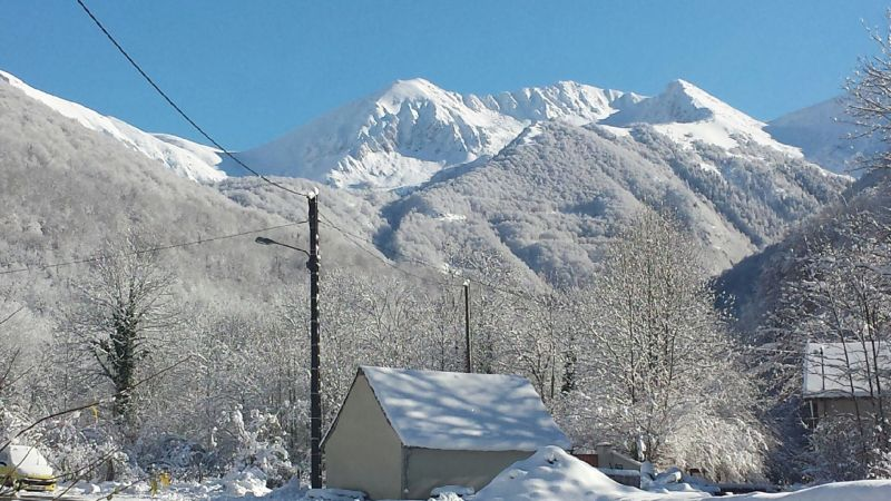 View from the property Location Vacation rental 106964 Aulus les Bains