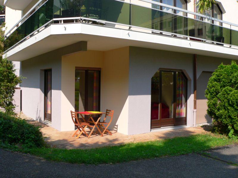 Terrace Location One-room apartment 108306 Thonon Les Bains