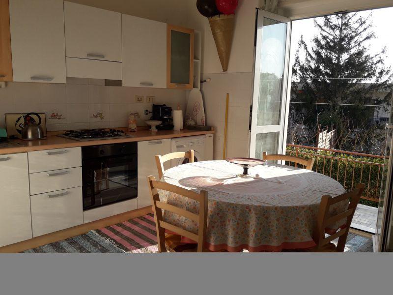 Open-plan kitchen Location Apartment 108359 Sanremo