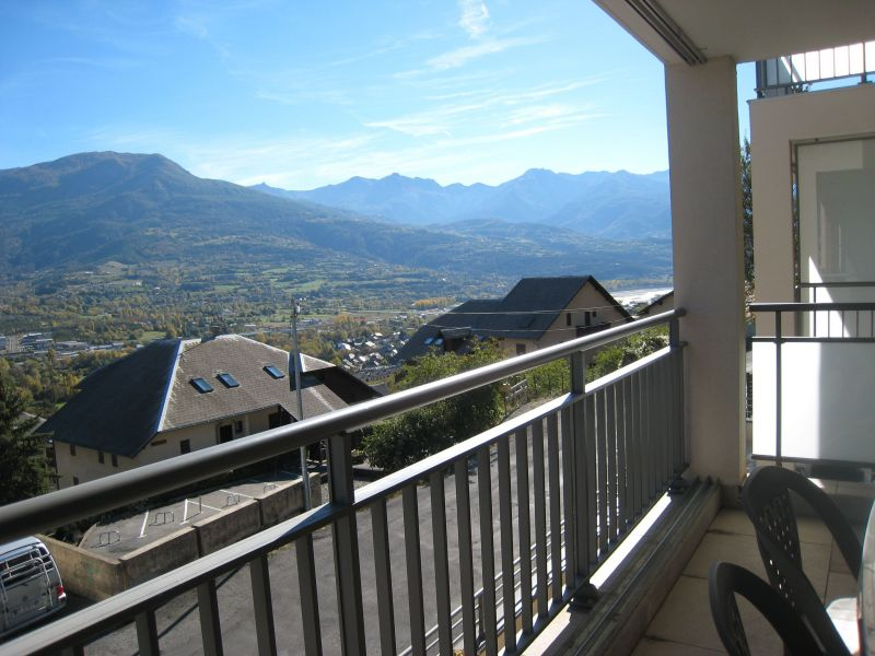 View from the terrace Location Apartment 118158 Embrun