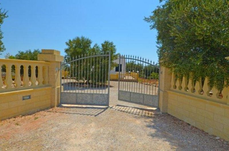 View of the property from outside Location Villa 72212 Pescoluse