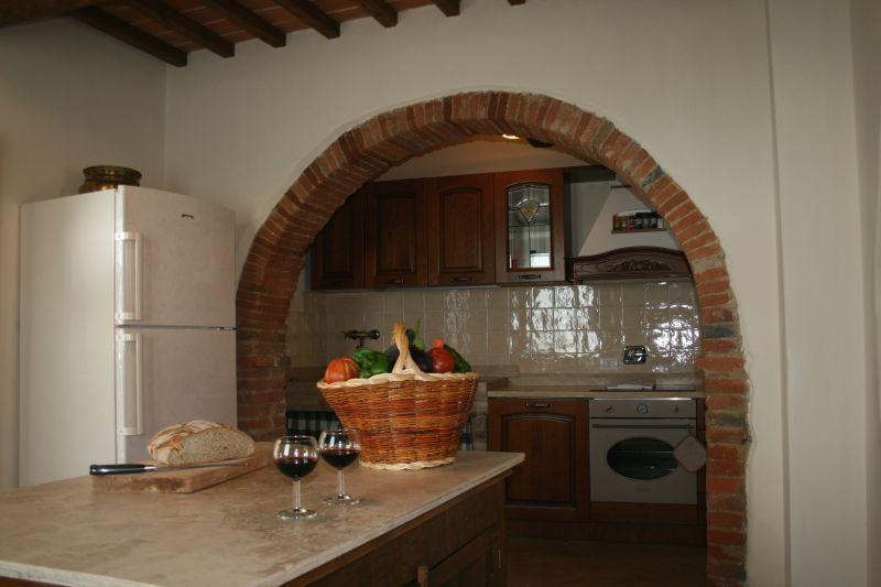 Open-plan kitchen Location Villa 75874 Siena