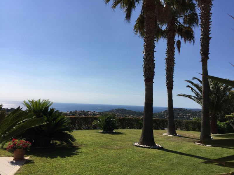 View from the terrace Location Villa 85005 Sainte Maxime