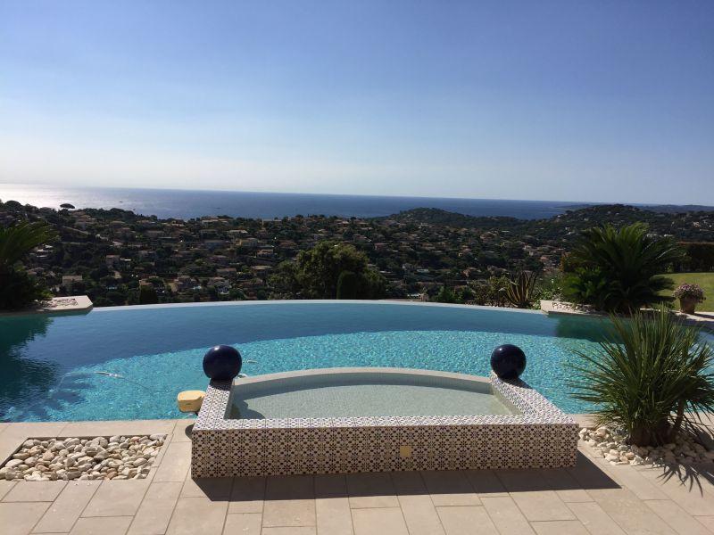 View from the terrace Location Villa 85005 Sainte Maxime