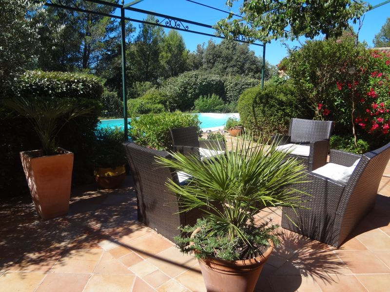 View from the terrace Location Villa 88796 Aix en Provence