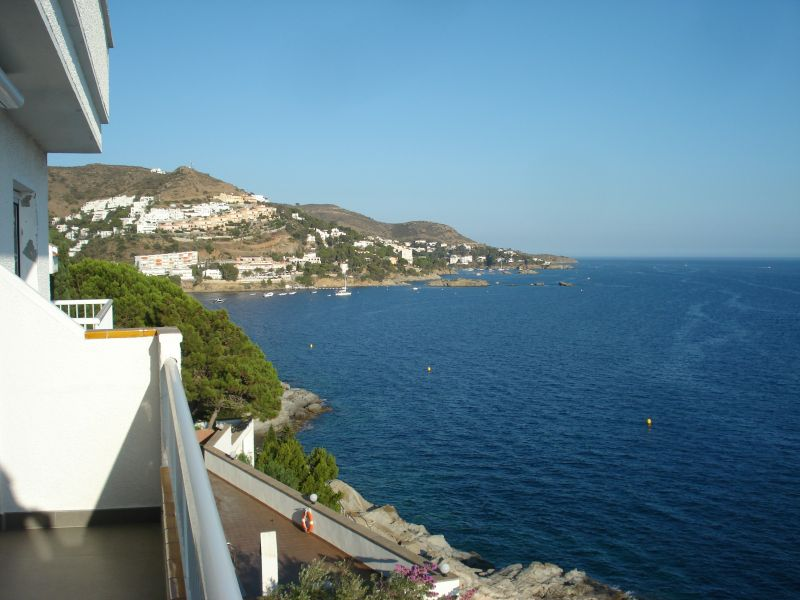 View from the terrace Location Apartment 109610 Rosas