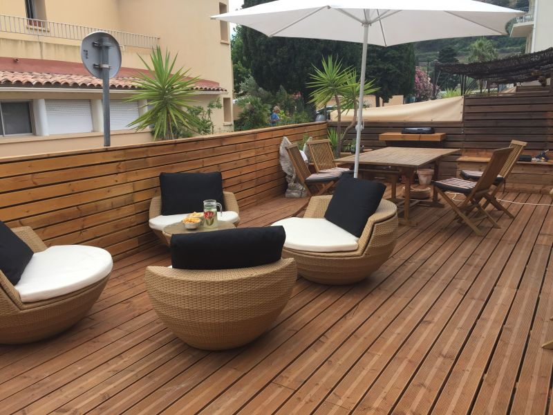 View from the terrace Location Apartment 117249 Le Lavandou