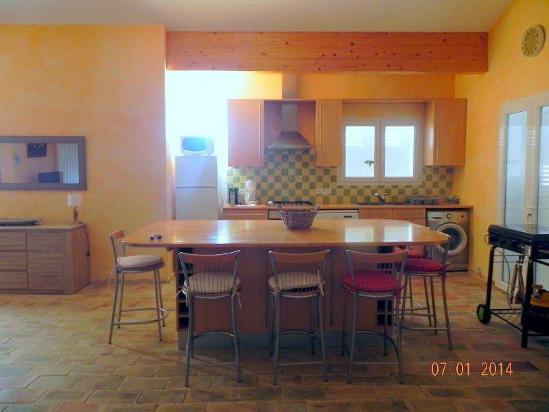 Open-plan kitchen Location Villa 117404 Gréoux Les Bains