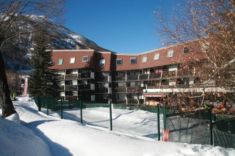 View of the property from outside Location One-room apartment 74661 Serre Chevalier