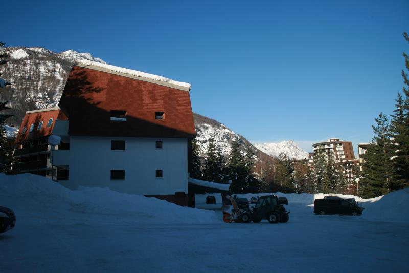 Parking Location One-room apartment 74661 Serre Chevalier