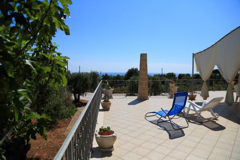View from the terrace Location Villa 74745 Torre Vado