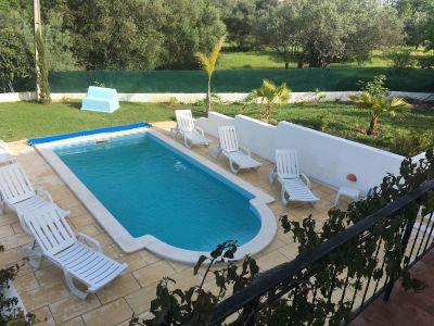 Swimming pool Location Apartment 80413 Almancil