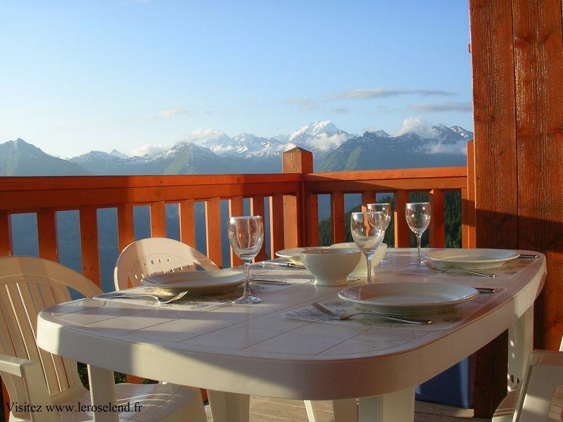 Balcony Location Apartment 90494 Les Arcs