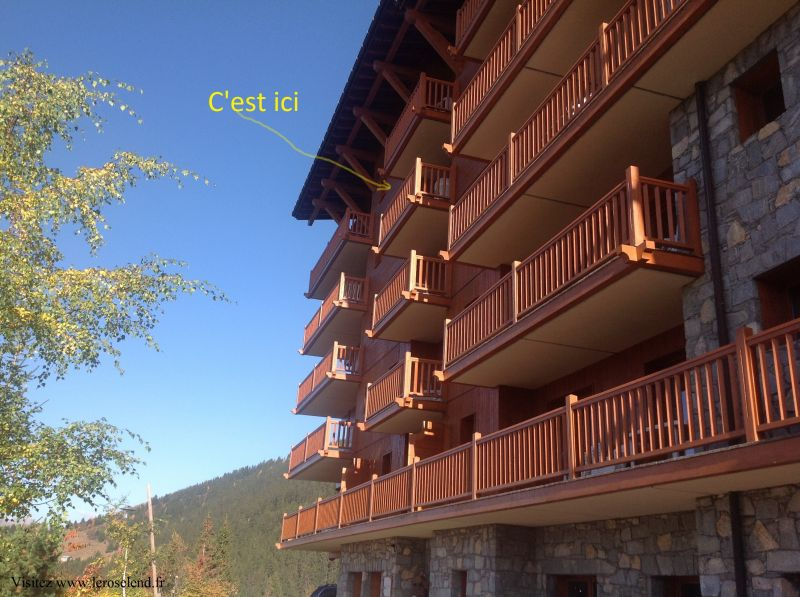 View of the property from outside Location Apartment 90494 Les Arcs