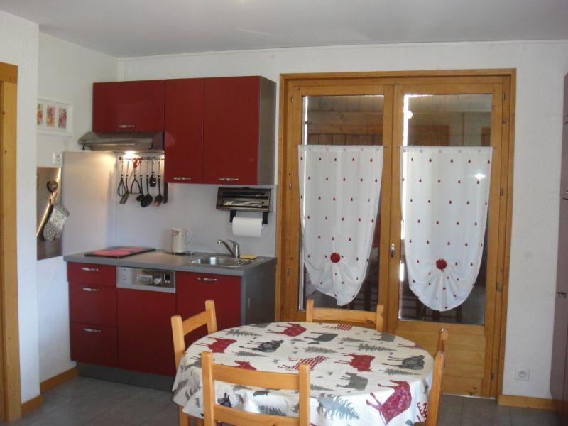 Kitchenette Location Apartment 91122 Samoëns