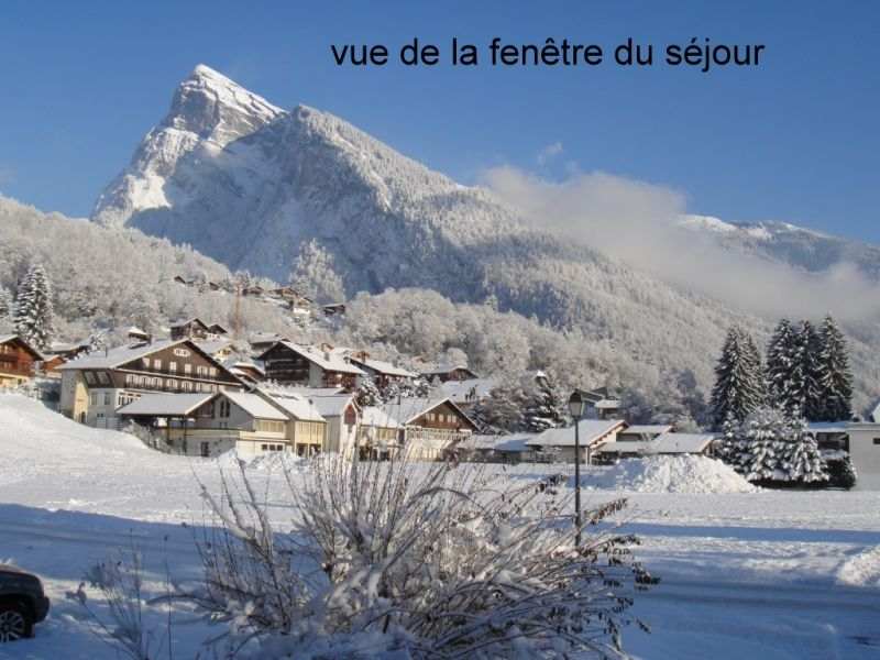 View from the property Location Apartment 91122 Samoëns