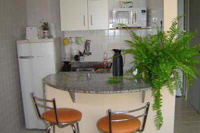 Open-plan kitchen Location Apartment 94405 Rio de Janeiro