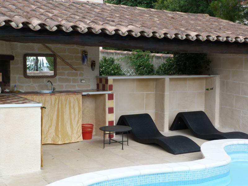 Swimming pool Location Apartment 101756 Vedène