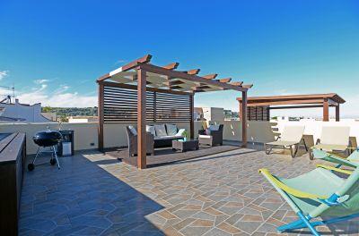 View from the terrace Location Apartment 101903 San Vito lo Capo