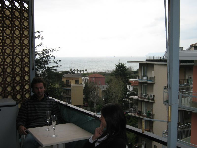 View from the balcony Location Apartment 104234 Albisola Superiore