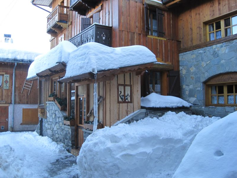 View of the property from outside Location Chalet 106839 Courchevel