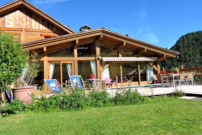 Garden Location Chalet 113553 La Clusaz