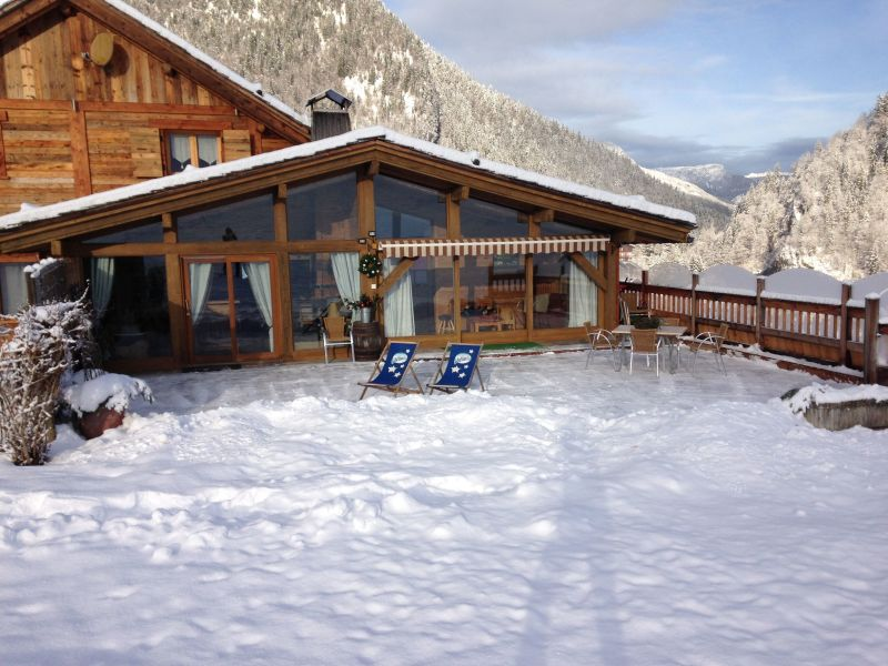View of the property from outside Location Chalet 113553 La Clusaz