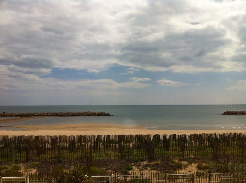 View from the balcony Location One-room apartment 113797 Valras-Plage