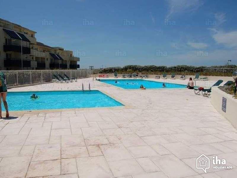 Swimming pool Location Apartment 114217 Lacanau