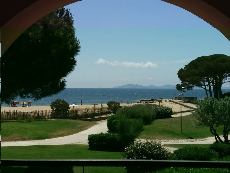 View from the balcony Location Apartment 110348 La Londe les Maures
