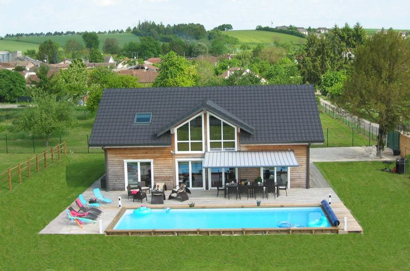 View of the property from outside Location Villa 116677 Troyes